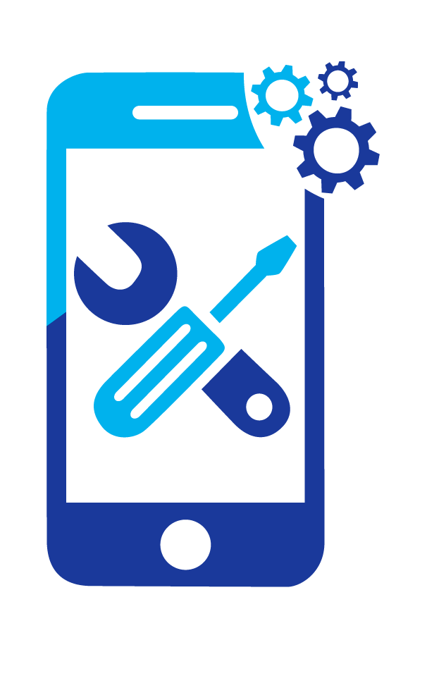 Reparationer af telefoner logo